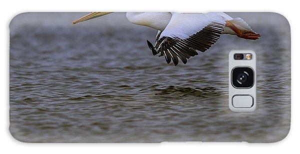 Pelican In Flight Galaxy Case