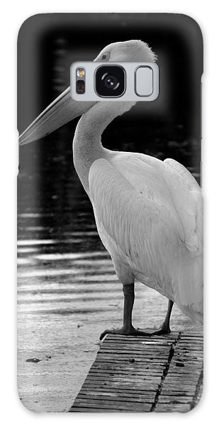 Pelican In The Dark Galaxy Case by Laurie Perry