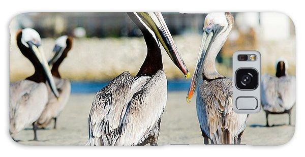 Pelican Looking At You Galaxy Case