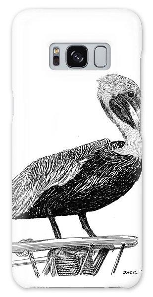 Monterey Pelican Galaxy Case