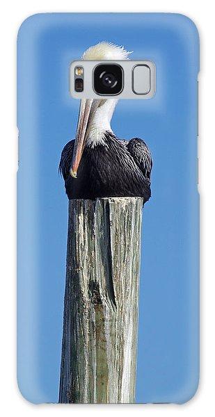 Pelican On Post Galaxy Case