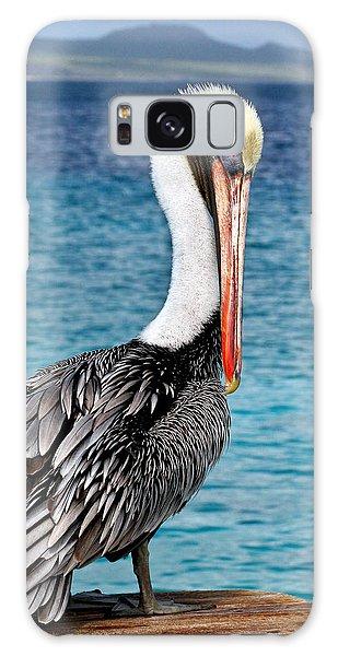 Pelican Portrait Galaxy Case