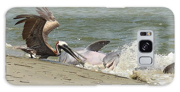 Pelican Steals The Fish Galaxy Case