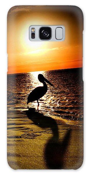 Pelican Sunrise Galaxy Case by Yew Kwang
