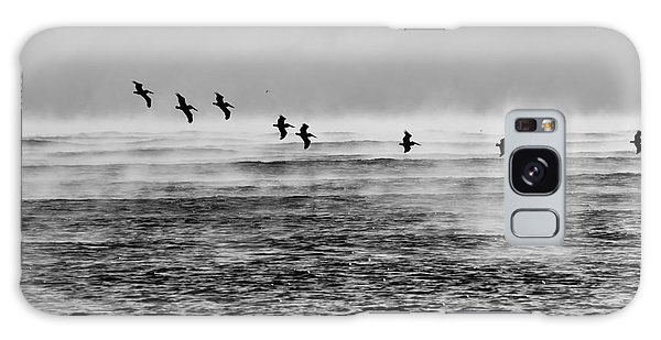 Pelicans In The Mist Galaxy Case