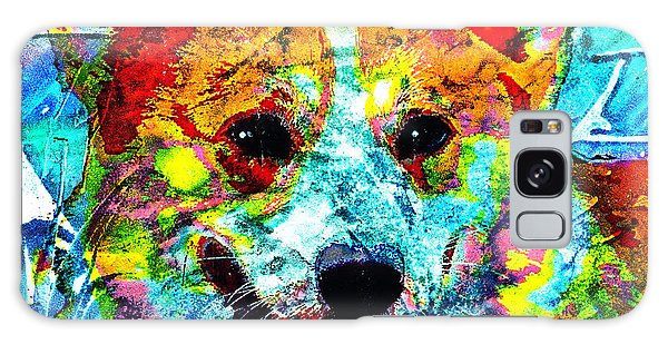 Pembroke Welsh Corgi Galaxy Case