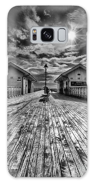 Penarth Pier 2 Monochrome Galaxy Case