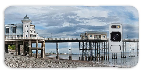 Penarth Pier Panorama 1 Galaxy Case