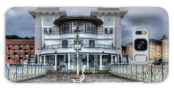 Penarth Pier Pavilion 2 Galaxy Case by Steve Purnell