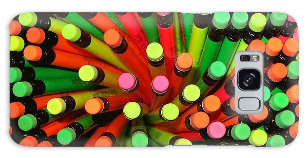 Pencil Blossom Galaxy Case