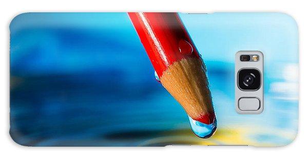 Pencil Water Drop Galaxy Case