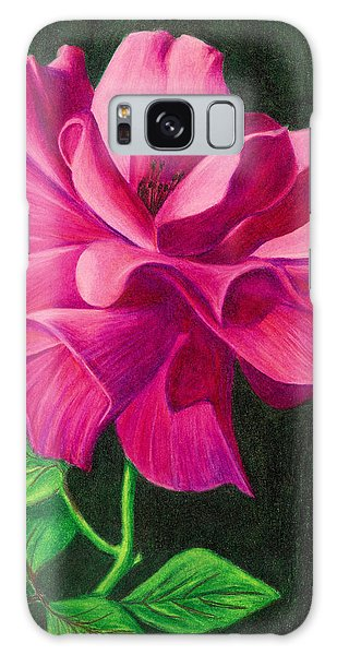 Pencil Rose Galaxy Case by Janice Dunbar