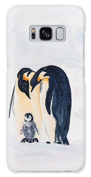 Penguin Family Galaxy Case