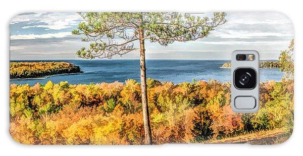 Peninsula State Park Scenic Overlook Panorama Galaxy Case
