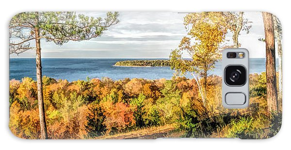 Peninsula State Park Scenic Overlook Panorama Galaxy Case