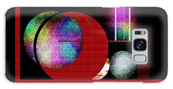 Penman Original - Many Moons  Galaxy Case by Andrew Penman