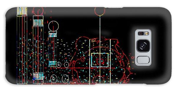 Penman Original - Recycled Art 2 Galaxy Case by Andrew Penman