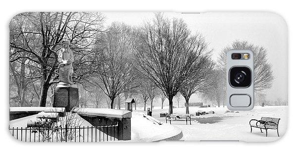 Penn Treaty Park Entrance Galaxy Case