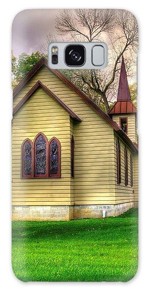 Pennsylvania Country Churches - Heckton Church At Fort Hunter Autumn - Dauphin County Galaxy Case