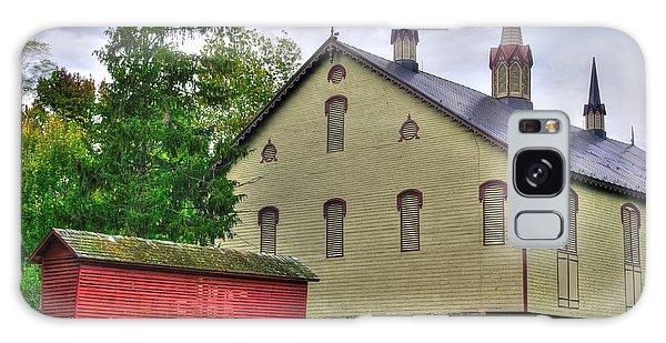 Pennsylvania Country Roads - The Centennial Barn - Fort Hunter Park - Dauphin County Galaxy Case