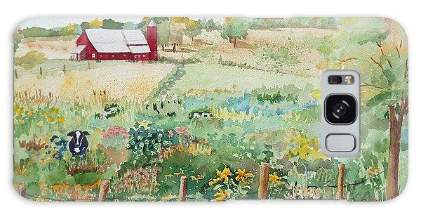 Pennsylvania Pasture Galaxy Case by Christine Lathrop