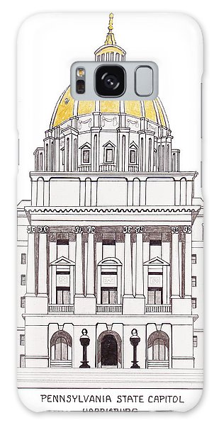 Pennsylvania State Capitol Galaxy Case