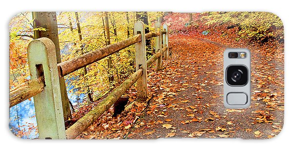Galaxy Case - Pennypack Trail Philadelphia Fall by A Gurmankin