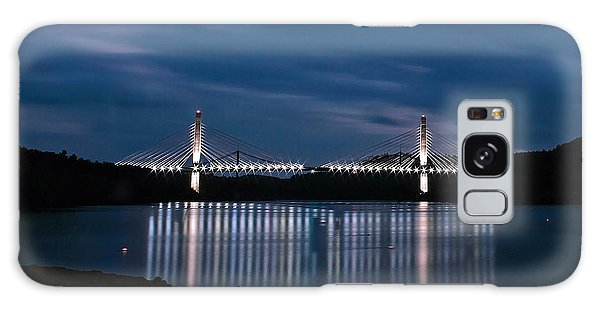 Penobscot Narrows Bridge And Observatory At Night Galaxy Case
