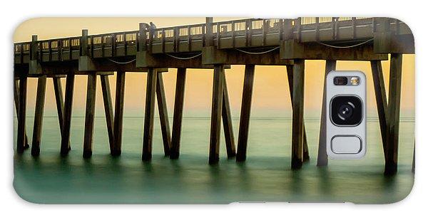 Pensacola Beach Fishing Pier Galaxy Case