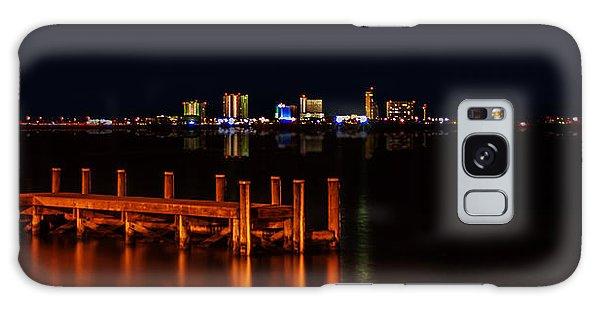 Pensacola Beach Reflections Galaxy Case