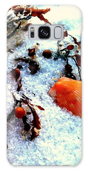 Pensacola Beach Sand Galaxy Case by Faith Williams