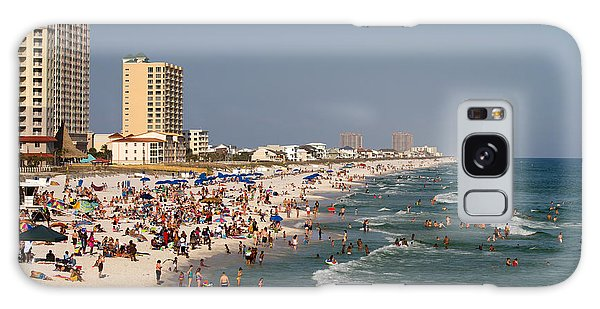 Pensacola Beach Tourists Galaxy Case
