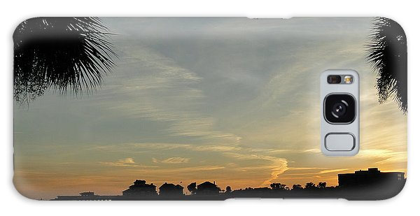 Pensacola Sunset Galaxy Case by Cindy Croal