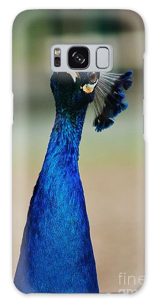 Pensive Peacock Galaxy Case by Craig Wood
