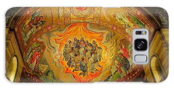 Pentecost Galaxy Case by Cindy Croal