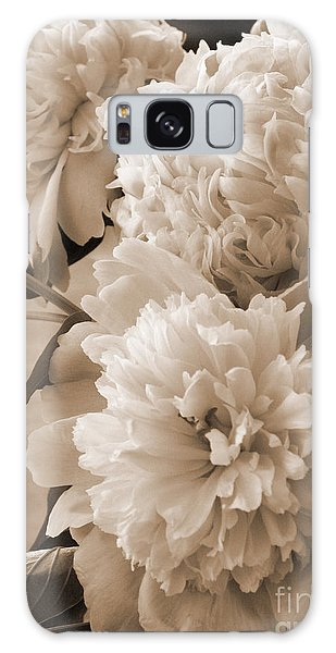 Peonies Galaxy Case