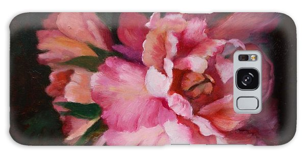 Peonies No 8 The Painting Galaxy Case by Marlene Book