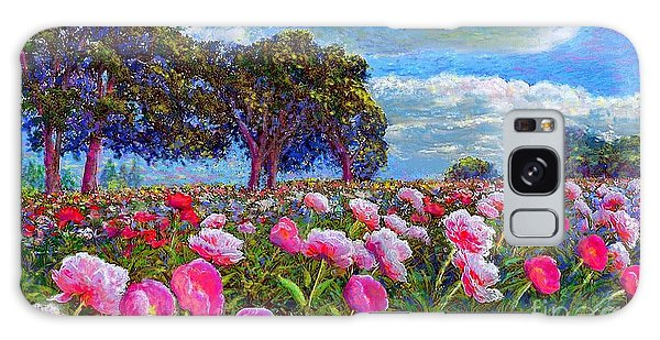 Bloom Galaxy Case - Peony Heaven by Jane Small