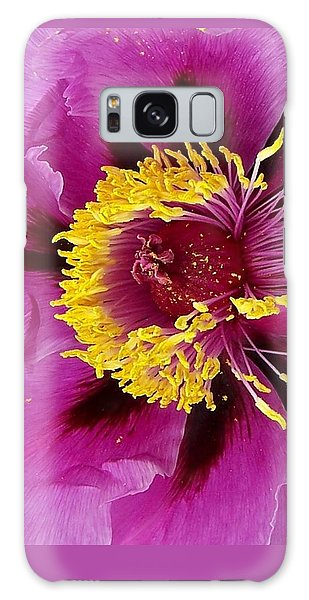 Peony Revealed Galaxy Case by Peter Mooyman