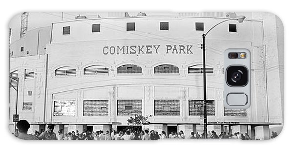 People Outside A Baseball Park, Old Galaxy Case