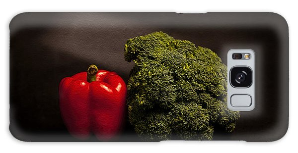 Pepper Nd Brocoli Galaxy Case