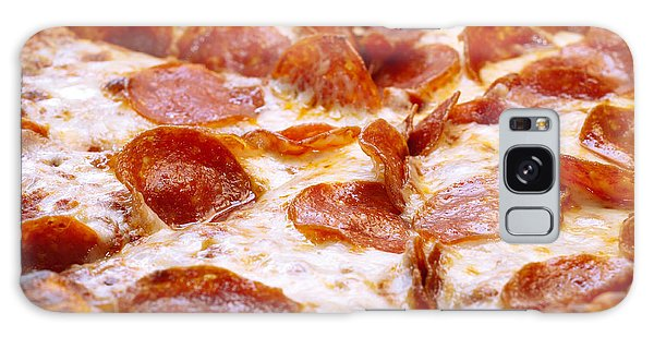 Pepperoni Pizza 1 - Pizzeria - Pizza Shoppe Galaxy Case