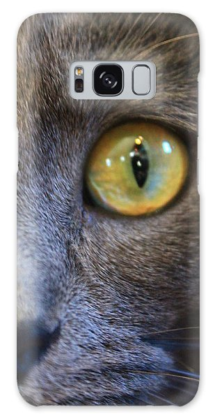 Pepper's Eye Galaxy Case by Alicia Knust