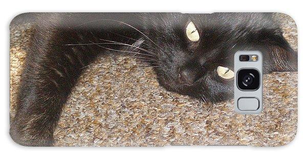 Pepsi Black Cat Found The Hot Spot Galaxy Case