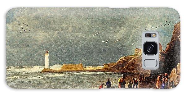 Imagery Galaxy Case - Perch Rock - New Brighton 1829 by Lianne Schneider
