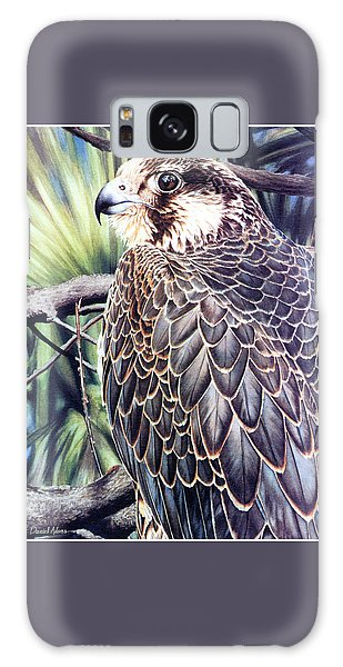 Da138 Peregrine Falcon By Daniel Adams Galaxy Case