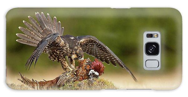 Pheasant Galaxy Case - Peregrine Falcon by Milan Zygmunt