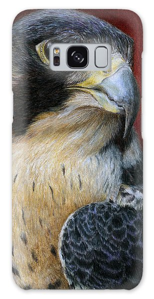 Peregrine Falcon Galaxy Case by Pat Erickson