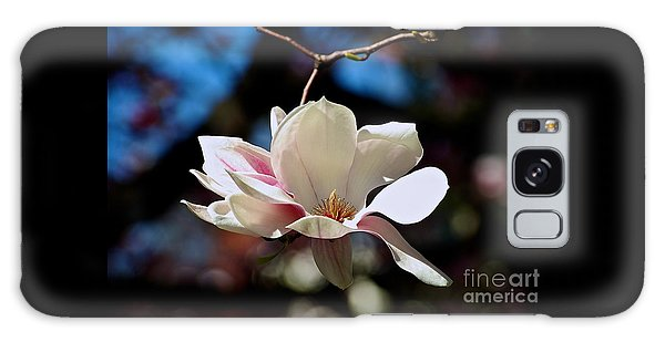 Perfect Bloom Magnolia Galaxy Case