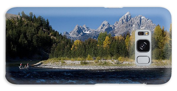 Perfect Spot For Fishing With Grand Teton Vista Galaxy Case